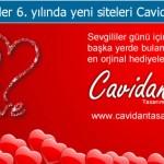 Sevgililer Günü Hediyeleri Cavidan Tasarım'da!..